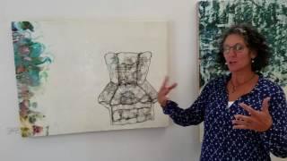 Tour Of Julia Fossons Encaustic Art Studio