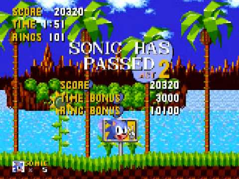 Sonic The Hedgehog Walkthrough Green Hill Zone Act 1 Special 1 By Darius320 Game Video Walkthroughs