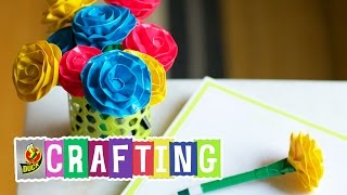 How To Craft A Duct Tape Rounded Rose Pen