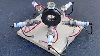 Spark Plug Free Energy Generator
