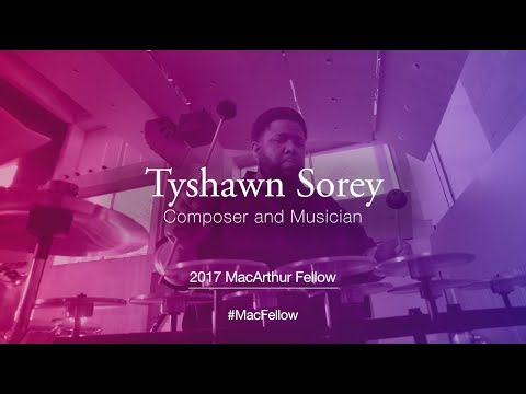 Composer and Musician Tyshawn Sorey | 2017 MacArthur Fellow