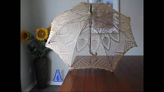 Sonnenschirm Häkeln Stricken Handarbeit