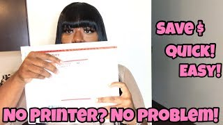 How To Ship Packages Without A Printer! Tips To Save Money On Shipping, Super Quick & Easy!