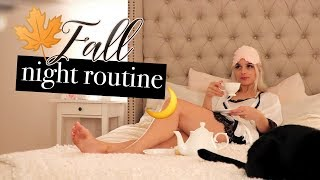 Ma Night Routine d'Automne ♡ | Romy Victory