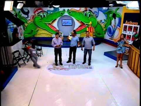 Carlos Siqueira e André No Programa Do Jacaré