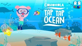 Comomola Tap Tap Ocean - Learn to Count with Number Fish | Toddler Fun Learning