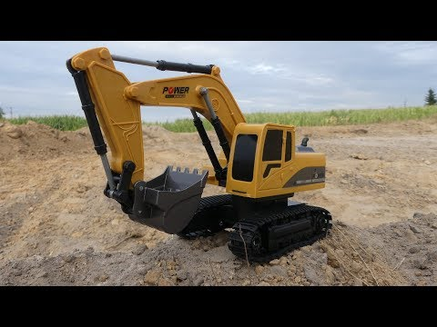 Mofun 1026 1:24 RC Excavator - Die cast parts and and misleading box :D