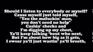Drake    All Me ft  Big Sean & 2 Chainz  Lyrics On Screen)