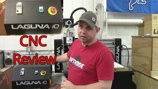 Laguna IQ CNC Machine Review and V-Carve Pro Demo