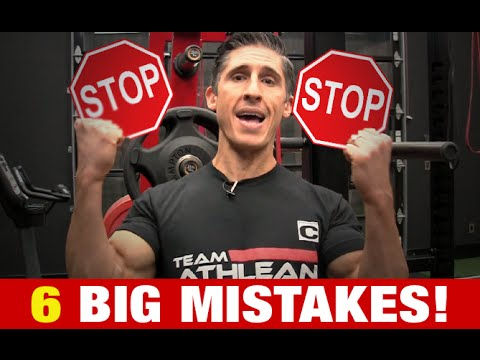 6 Muscle Gaining Mistakes (SLOW OR NO GROWTH!!)