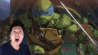 Teenage Mutant Ninja Turtles Mutants in Manhattan Announcement Reaction Gameplay Review