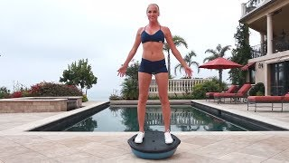 BOSU Ball Workout For Buttocks - BOSU Exercises  Glutes - Music Only