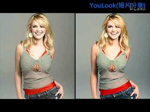 女明星真實相片與圖像處理後相片對比(PS威力真強大)