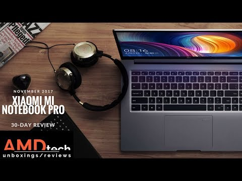Xiaomi Mi Notebook Pro Review:  One Month as My Daily Driver