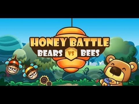 Video of Honey Battle - Bears vs Bees