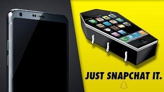 My New Logo, LG G6 Leaked, Huge Snapchat Update & More News!