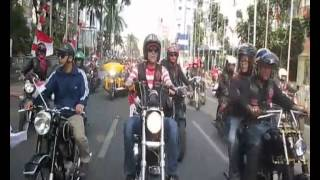 Bikers Brotherhood MC Kirab Merah Putih hari Kemerdekaan Indonesia