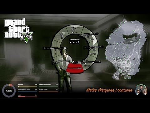 GTA V Melee Weapons Locations