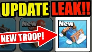 OMG NEW UPDATE LEAKS IN CLASH OF CLANS NEW TROOP  SPELL AND TRAP CHRISTMAS UPDATE 2016