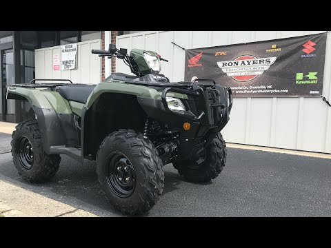 2021 Honda FourTrax Foreman Rubicon 4x4 Automatic DCT EPS in Greenville, North Carolina - Video 1