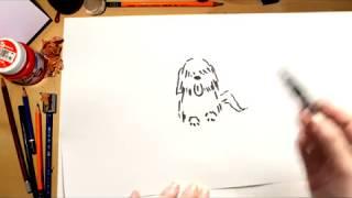 Como dibujar un Perro - dibujos para niños