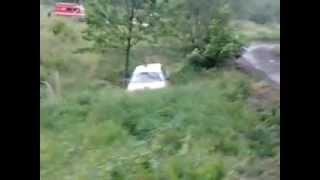 preview picture of video '27 Rajd Karkonoski 2012 os lubomierz  honda civic dzwon'