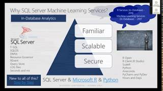 Machine Learning Services in SQL Server by Don Rohan Castelino