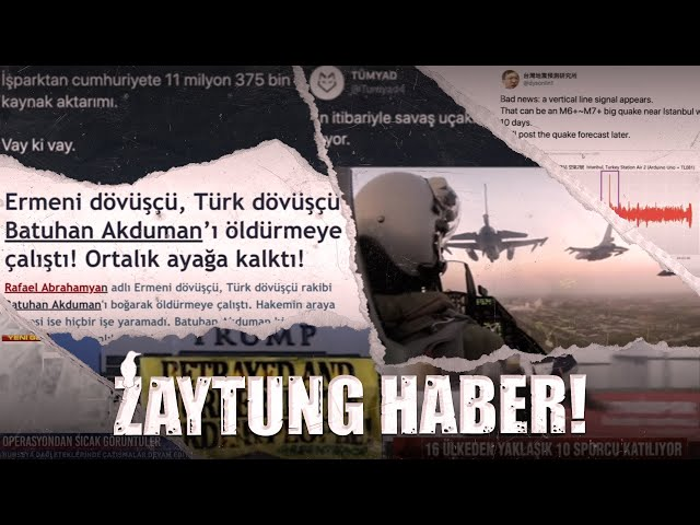 Pronunție video a Zaytung în Turcă