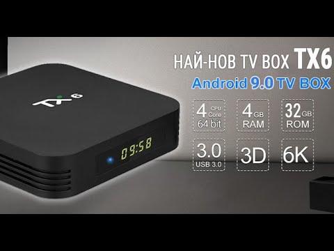 Ревю на ТВ Бокс Tanix TX6 4GB/32GB