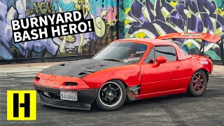 Home-Built Mazda Miata Drift Car Slays on a Budget!