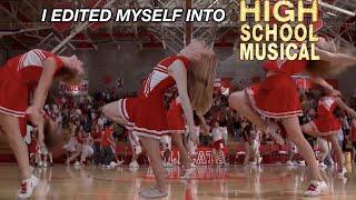 i edited myself into high school musical