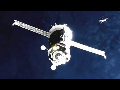 ISS Expedition 52-53 Soyuz MS-05 Docking to the ISS