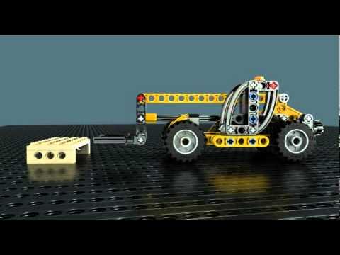 Vidéo LEGO Technic 8045 : Le mini monte-charges