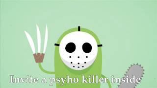 Tangerine Kitty - Dumb Ways to Die (lyrics)