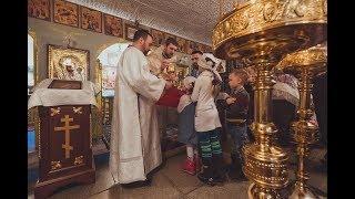 Слово настоятеля Покровского храма в селе Бархатово на праздник Рождества Христова 2018 года (Видео)