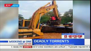 Red cross rescues passengers before bus gets swept by floods in Turkana