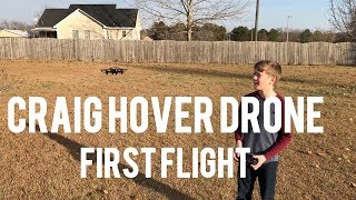 CRAIG Hover Drone With Camera - First Outdoor Flight