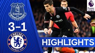 Everton 3-1 Chelsea | Premier League Highlights
