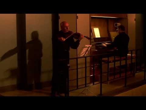 Jules Massenet - Meditation from Thais, violin-Artash Terzian,organ-Luka Gadeliya