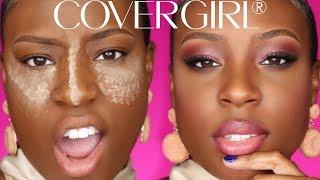 Full Face Of COVERGIRL As A Black Girl?!?!