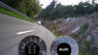 preview picture of video 'Motorrad-Strecke, Speed & Drehzahl: Vom Enztal ins Murgtal (Kaltenbronn, Reichental) BitfW'