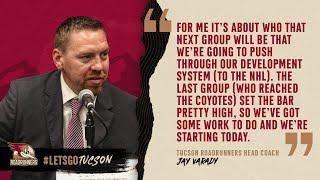 [TUC] Jay Varady press conference
