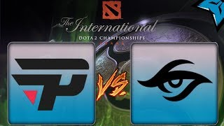 [PT-BR] Pain Gaming vs Secret - Dota 2 The International 8