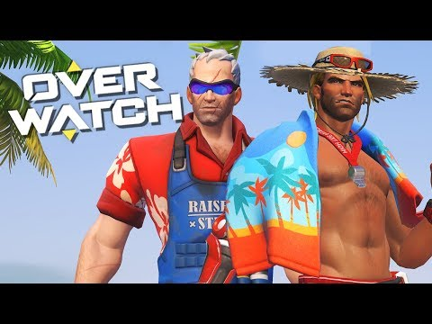 Grill-Soldier & Badehandtuch-McCree   OVERWATCH