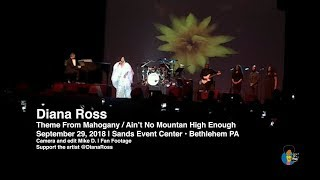 Diana Ross - Theme From Mahogany (Live)   Fan Footage 2018 Tour