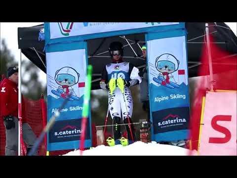 第19回冬季デフリンピック競技大会(イタリア) アルペンスキーのスタート方法