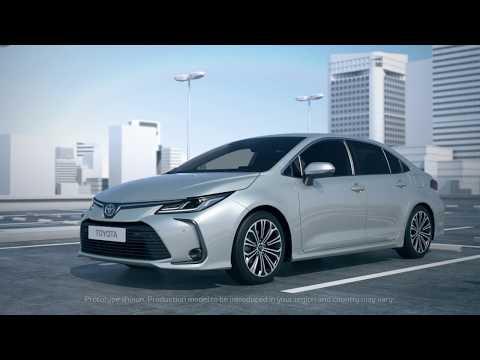 Toyota  Corolla Седан класса C - рекламное видео 1