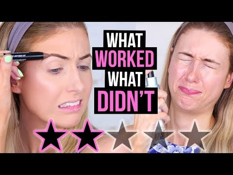 FULL FACE Testing WORST RATED Makeup: DRUGSTORE Edition! || What Worked & What DIDN'T