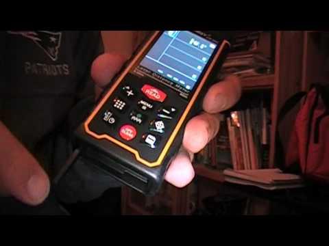 Distanciometro con camara - medidor de distancias laser