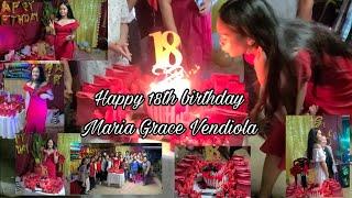 Happy 18th birthday Maria Grace Vendiola